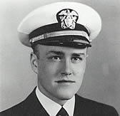 A young Melvin R. Laird in Naval Uniform